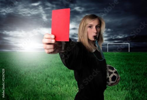 Photo red card