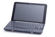 Netbook With Nearly Empty Keyboard