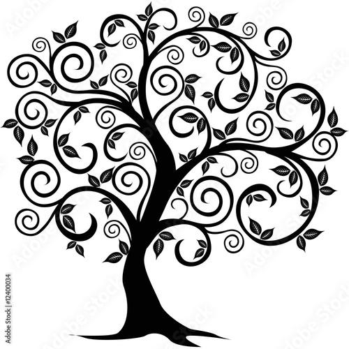 Fotografie, Obraz Vector tree