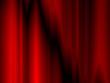 Vorhang in Rot