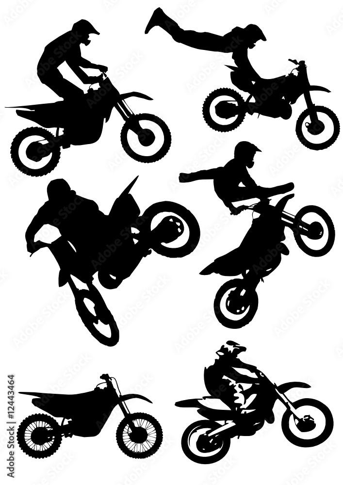 Fototapeta Freestyle Motocross