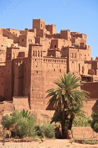 Papiers peints Maroc The fortified town of Ait ben Haddou near Ouarzazate