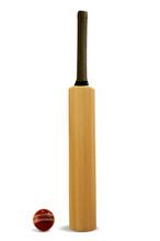 Cricket Bat And Ball