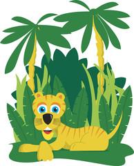 NaklejkaJungle Tiger