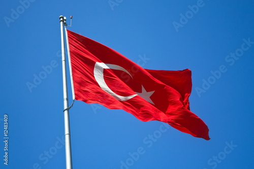Photo  Turkish flag