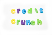 Magnetic Letters Isolated On A...
