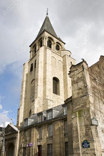 Eglise Saint-Germain des Prés, Paris Poster