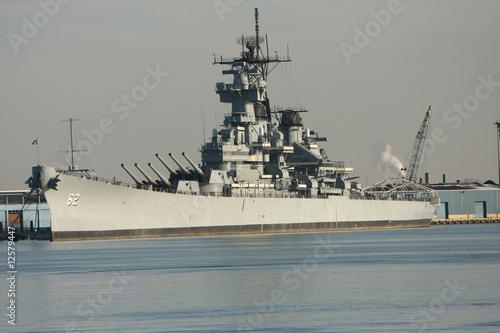 Photo  Battleship New Jersey