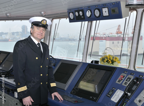 Vászonkép  Captain of the ocean ship