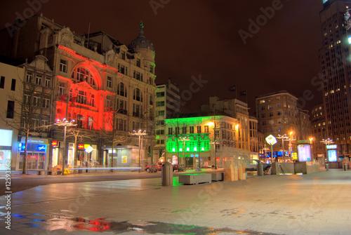Poster Londres bus rouge Ein Markt in Antwerpen
