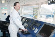 Captain Of The Ocean Ship