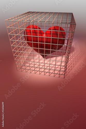 Photo  gefangenes Herz