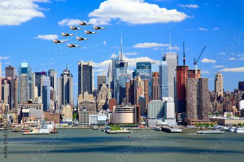Fotografija  The Manhattan Midtown Skyline