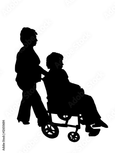 Photo accompagnatore disabili