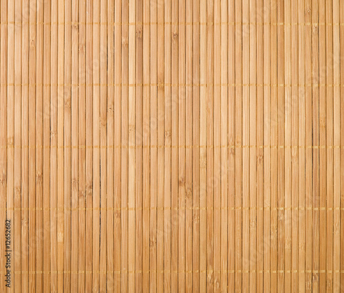 Obraz bamboo mat background - fototapety do salonu