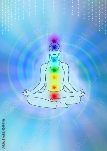 Fotografia  Yoga Chakra Meditation