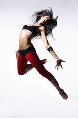 Obraz na Szklemodern style dancer