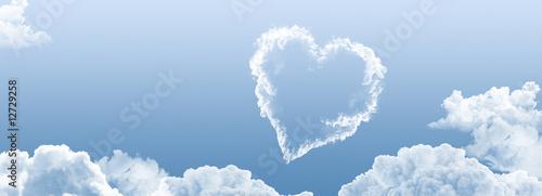 Foto  Wolke - Herz 1