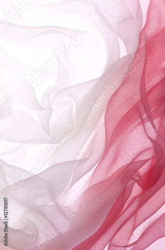 Obraz na plátně  red chiffon