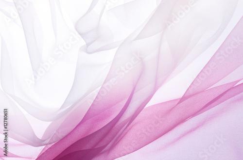 Obraz na plátně  pink chiffon
