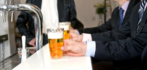 Foto op Aluminium Alcohol Beers on a Bar