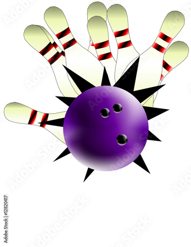 Canvas Prints Fairytale World bowling
