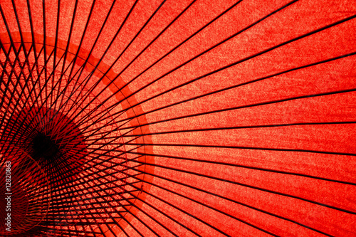 Staande foto Japan Japanese Oriental umbrella