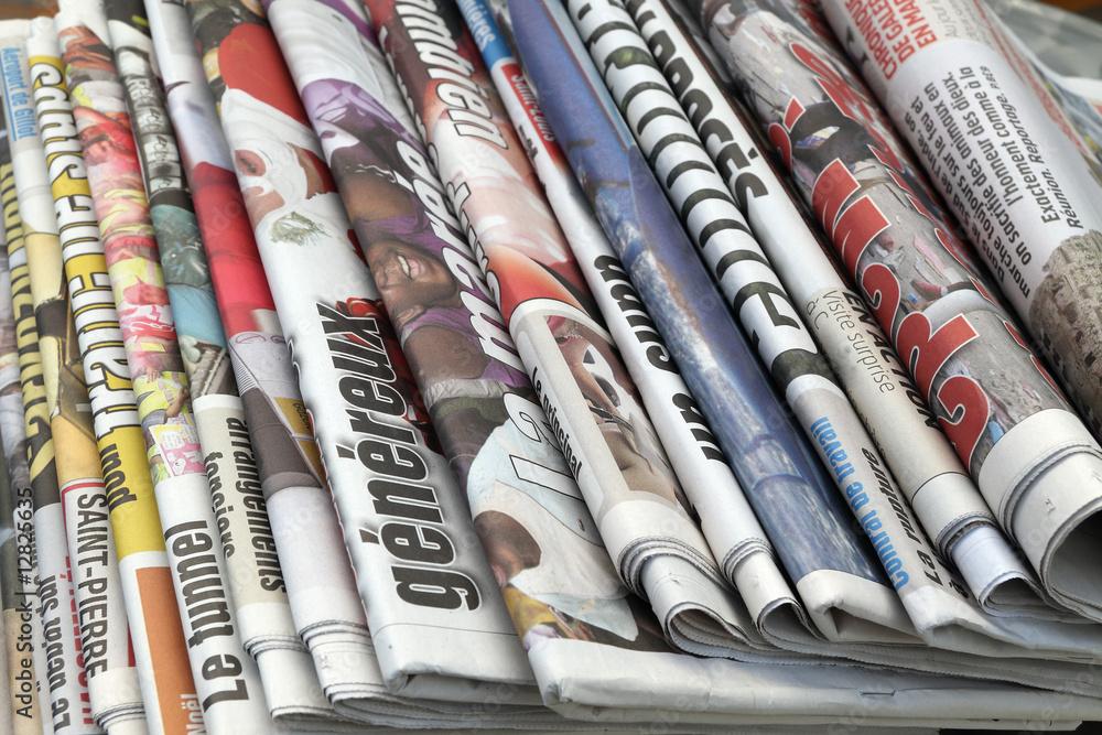 Fototapeta journaux