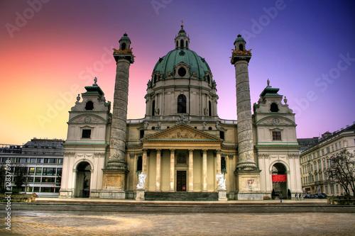 Vienne / Wien - Karlskirche / St. Charles Church