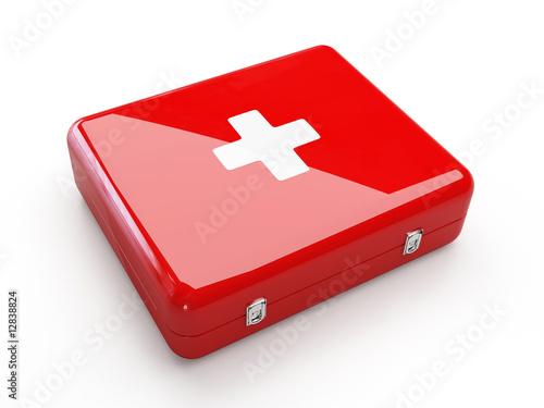 Fotografie, Obraz  First aid kit