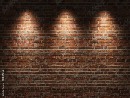 plakat Brick wall