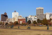 Memphis Skyline From Tom Lee P...