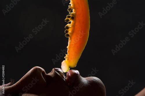 Obraz Erotic_food - fototapety do salonu