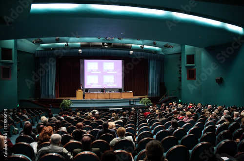 Fotomural People on conference