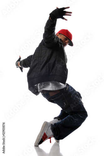 hip-hop style dancer