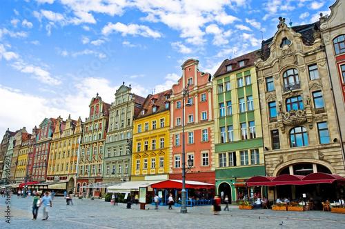 obraz lub plakat Rynek Wrocław Polska