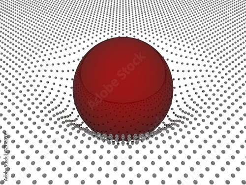 Fotografia, Obraz  3d relativitätstheorie