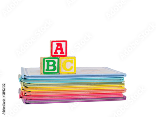 ABC Blocks on Children