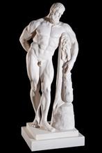 Classical White Marble Hercule...