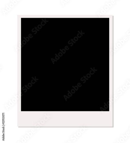 Fototapeta polaroïde cadre photo obraz na płótnie