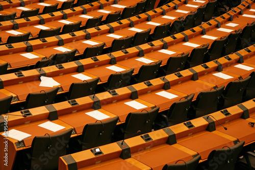 Fotografie, Obraz  Inside the European Parliament in Brussels