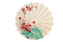 Isolated Oriental Umbrella Wit...