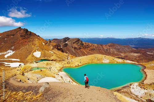 Tongariro National Park, New Zealand Canvas