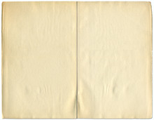 Two Blank Pages From A 1932 Vi...
