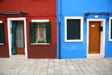 Maisons Colores A Burano (lagune Venitenne)