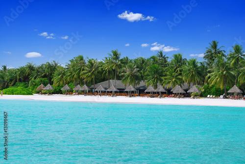 Foto op Plexiglas Caraïben Tropical paradise