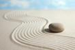 canvas print picture Zen stone