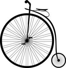 Antique Highwheel Bike 1885