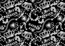 Ice Queen Seamless Wallpaper