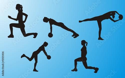 Fotografia Fitness Woman